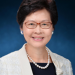 Carrie Lam (Chief Executive, HKSAR Government)