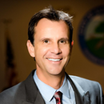 Cameron Smyth (Mayor of the City of Santa Clarita  at  California)