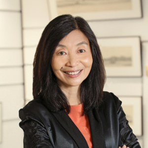 Sabrina Lin (Vice-President for Institutional Advancement at Hong Kong University of Science and Technology)